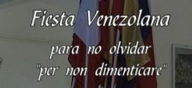 "Festa Venezolana ""Para no olvidar"" – Per non dimeticare – Anno 2005"