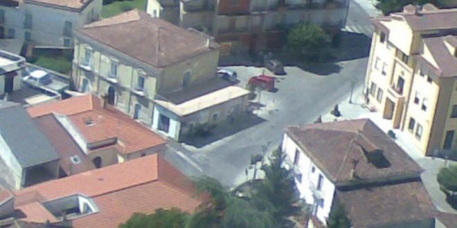 Sarconi in elicottero