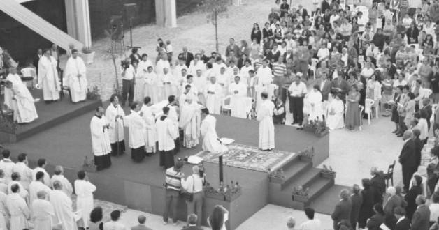 Cerimonia in Piazza Aldo Moro