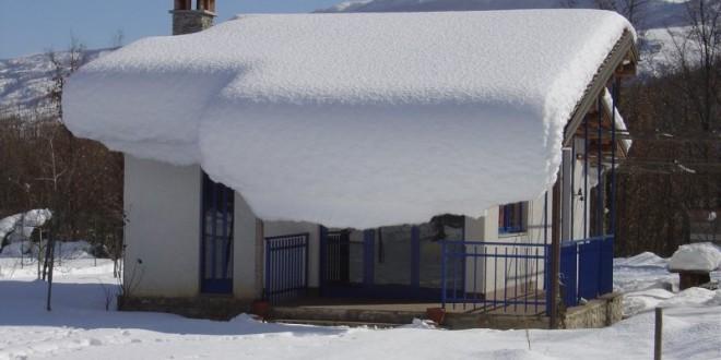 Sarconi con la neve