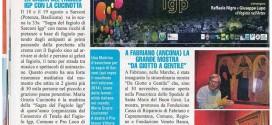 """La Sagra del Fagiolo sulla rivista settimanale """"Non solo Gossip curiosi di TUTTO"""""""