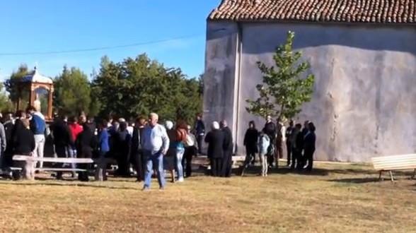La Processione Della Madonna Di Montauro Dalla Cappella Alla Chiesa Madre – Sarconi 15 Settembre 2013