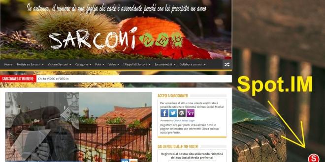Sarconiweb.it introduce Spot.im, una chat gratuita per tutti gli utenti!