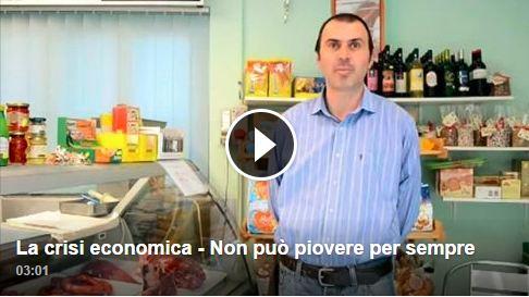 La crisi economica – Non può piovere per sempre (Michele Cantisani)
