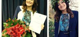 Angela Vitale di Sarconi si è laureata