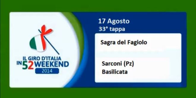 "Video Reportage weekendagogo ""Sagra del Fagiolo"""