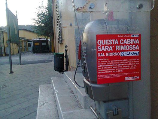cabina telefonica sarconi