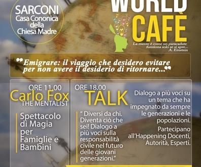 """A Sarconi si è parlato di emigrazione con """"The world cafè"""""""