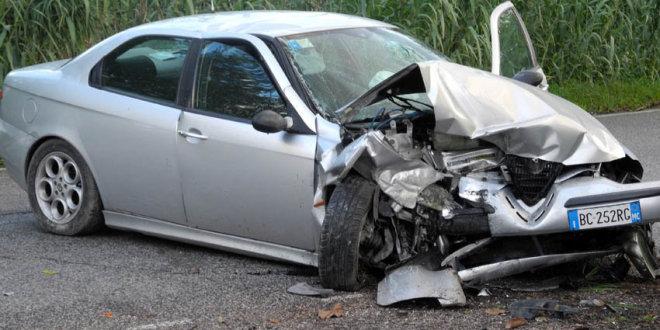 Incidenti stradali. I comuni con più elevato indice di lesività sono Sarconi e Spinoso