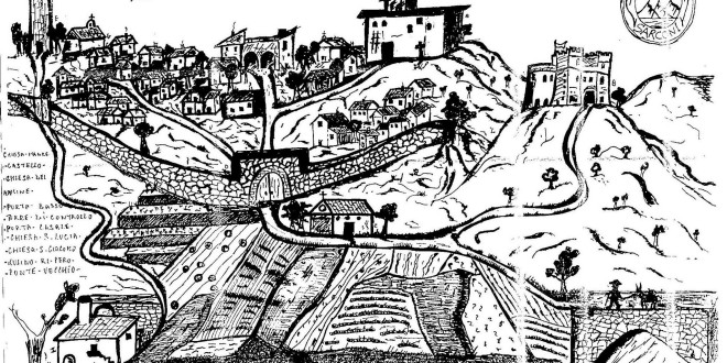 Sarconi come era presumibilmente nel 1600