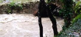 Esonda il Fiume Maglia a Sarconi (GUARDA IL VIDEO)