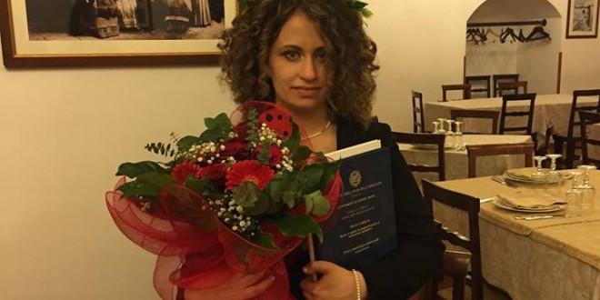 Romina Rotondaro di Sarconi si è laureata