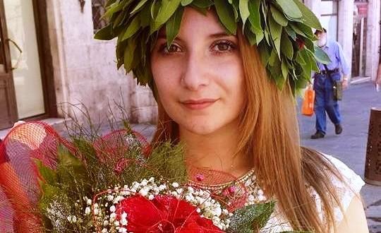 Fabiana Rivelli di Sarconi si è laureata