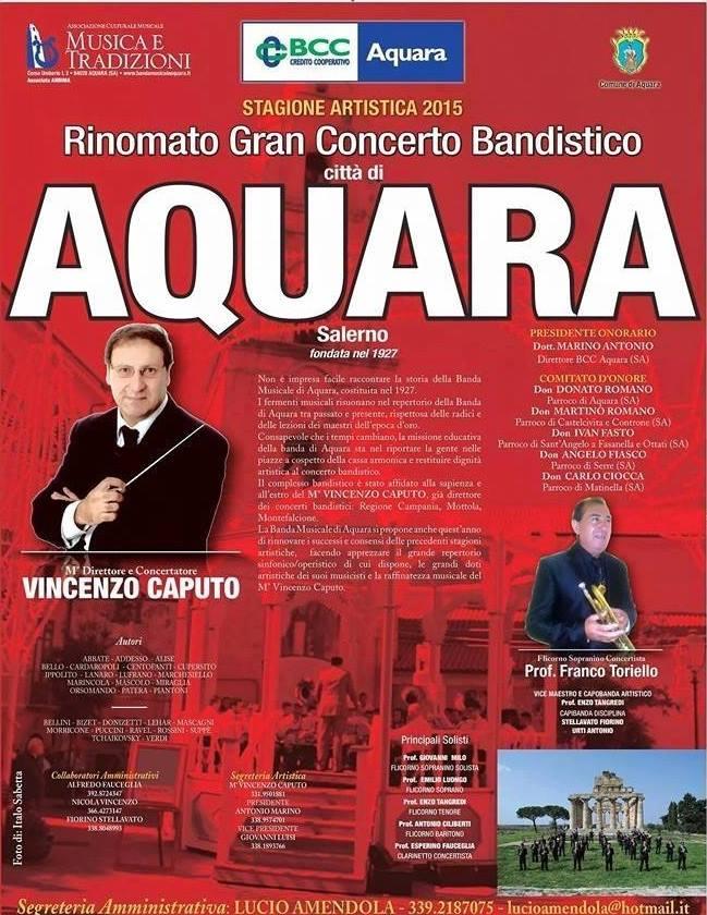 concerto banda di acquara