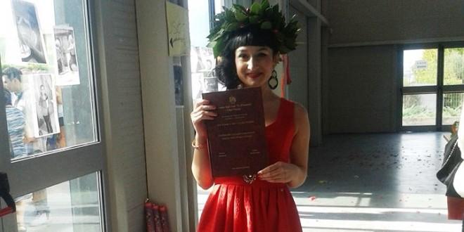 Serena Marino di Sarconi si è laureata