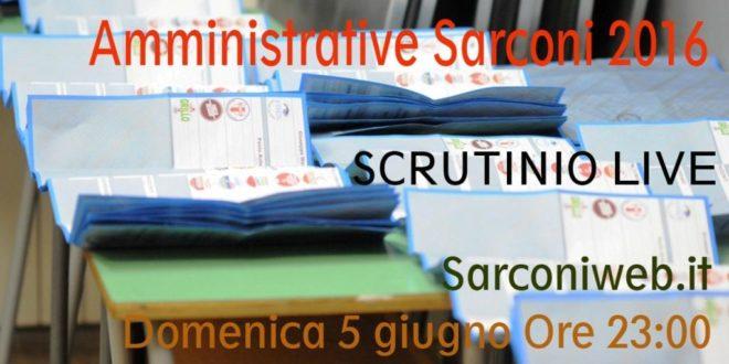 Elezioni amministrative 2016 – Segui qui la diretta dello spoglio di Sarconi. Chi sarà il nuovo Sindaco?