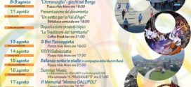 """Re…State a Sarconi"""" il programma estivo di eventi e manifestazioni a Sarconi"""