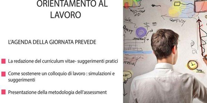 Sarconi 01 agosto, Workshop: Orientamento al lavoro presso la Biblioteca comunale