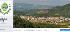E' attiva la pagina facebook istituzionale del Comune di Sarconi
